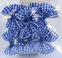 Бантикидля декорирования, 10 шт., голубые