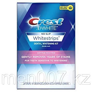Crest 3D White 28 полосок (Отбеливающие полоски для чувствительных зубов)