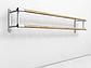 Балетный станок двухрядный настенный 3м, фото 2
