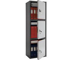 Шкаф бухгалтерский металлический SL-150/3Т (1490х460х340 мм)
