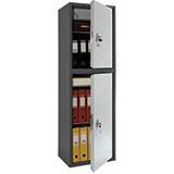 Шкаф бухгалтерский металлический SL-150/2Т (1490х460х340 мм)