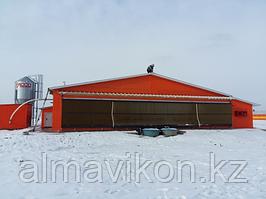 Жалгамыская птицефабрика АО «АЛЕЛЬ АГРО» Нами была установлена беспроводная система IP видеонаблюдения в количестве более 48-камер