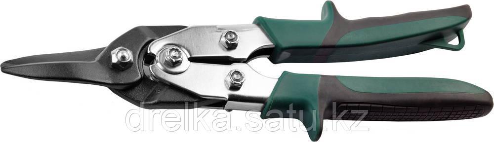 Ножницы по твердому металлу, прямые, Cr-Mo, 260 мм, KRAFTOOL GRAND