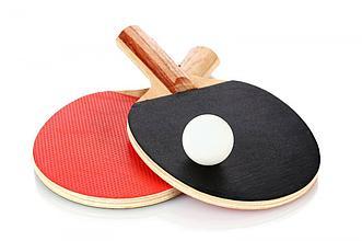 Набор ракетки настольного тенниса (2 ракетки + 3 шарик)