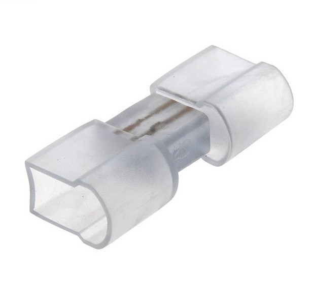 Коннектор соединитель для Flex Neon, гибкий неон, холодный неон, флекс неон, неоновый шнур
