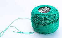 """Нитки для вязания """"Ирис"""", зеленые"""
