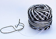 """Нитки для вязания """"Ирис"""", черно-белые"""