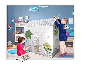 Игровой домик раскраска, фото 2