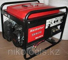 Бензиновый генератор сварочный Akimotor SHW210S
