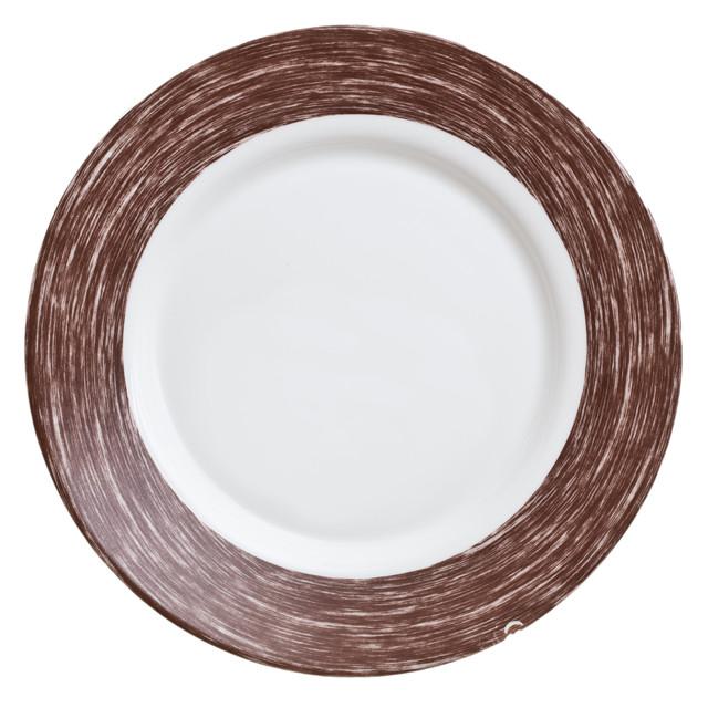 Тарелка обеденная Luminarc Color Days chocolate  24 см.