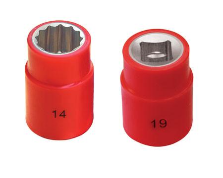 """Головка изолированная (C=1/2"""")  10 мм 1000V (тип изоляции: напыление)"""