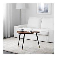ЛЁВБАККЕН Придиванный столик, классический коричневый