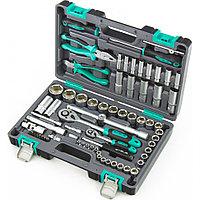 Набор инструментов в пластиковом кейсе 1/2 1/4 CrV Stels 69 предметов