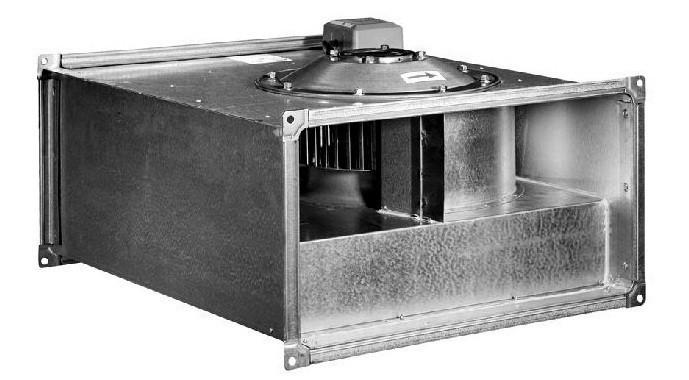 Вентилятор канальный прямоугольный ВКП 50-25-4D (380В)