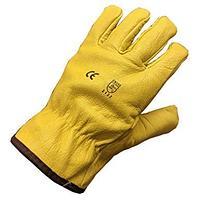 Кожаные утепленные перчатки Водителя, фото 1