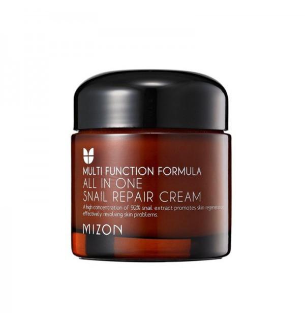 Улиточный крем для лица Mizon All In One Snail Repair Cream (75 мл)