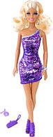 Кукла Барби Сияние моды в фиолетовом платье Barbie , фото 1