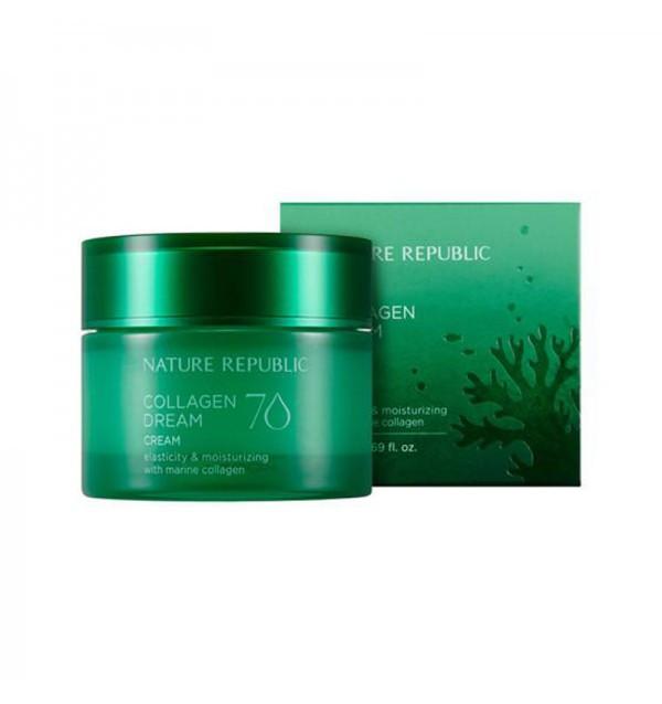 Крем для лица с коллагеном Nature Republic Collagen Dream 70 Cream (50 мл)