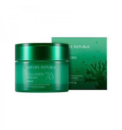 Крем для лица с коллагеном Nature Republic Collagen Dream 70 Cream (50 мл), фото 2