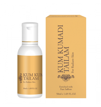 Масло для лица KUM KUMADI TAILAM (50 мл), фото 2