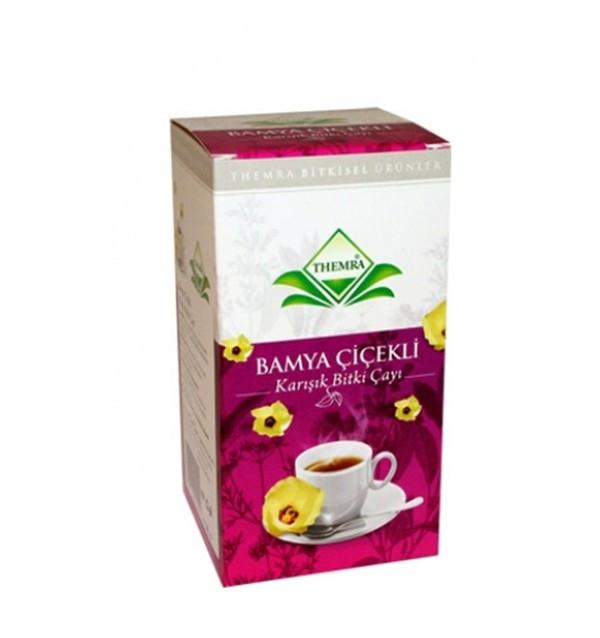 Чай из цветков Бамии против диабета Bamya Cicekli
