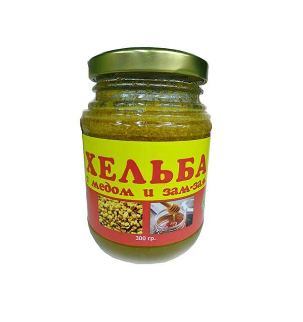 Хельба с медом и зам-зам Sana