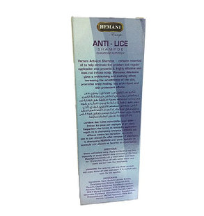 Шампунь с маслом для волос  против вшей Hemani, фото 2