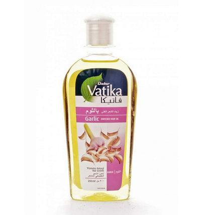 Масло для волос с чесноком Dabur Vatika Garlic Enriched Hair Oil (200 мл), фото 2