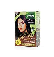 Хна для окраски волос Vatika Henna Natural Brown (коричневая)