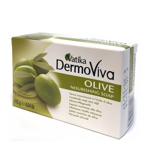 Увлажняющее мыло Dabur Vatika DermoViva Olive