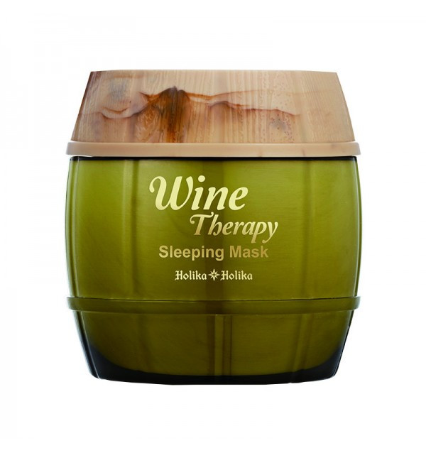 Антивозрастная маска на основе экстракта белого вина Holika Holika Wine Therapy Sleeping Mask White Wine (120 мл)