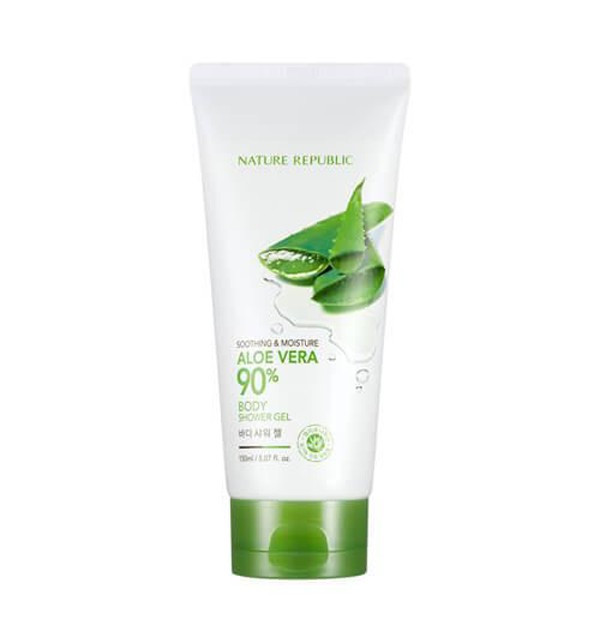 Гель для душа Nature Republic Soothing & Moisture Aloe Vera 90% Body Shower Gel (150 мл)