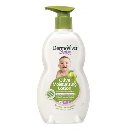 Детский лосьон для тела с экстрактом оливы DermoViva, фото 2