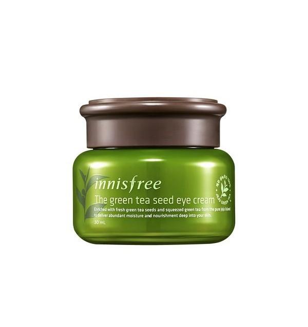 Крем для кожи вокруг глаз с зеленым чаем Innisfree The Green Tea Seed Eye Cream (30 мл)