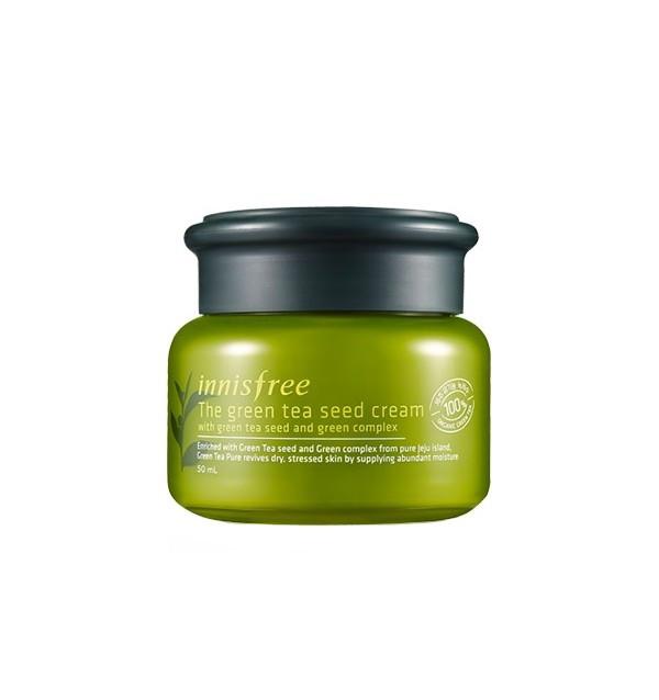 Крем для лица с зеленым чаем Innisfree The Green Tea Seed Cream (50 мл)