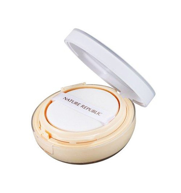 Кушон бежевый Nature Republic Provence Intensive Ampoule Cushion SPF50+/PA+++ Natural Beige (15 г)