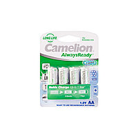 Аккумулятор CAMELION AlwaysReady Rechargeable Ni-MH NH-AA1000ARBP4