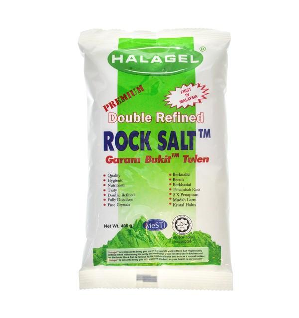 Пищевая соль Halagel Double Refined Rock Salt