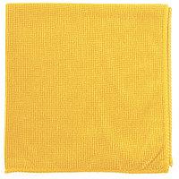 Салфетка из микрофибры жемчужная для бытовой техники и мебели желт.  400*400 мм//Elfe