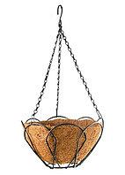 Подвесное кашпо, 30 см, с кокосовой корзиной// Palisad