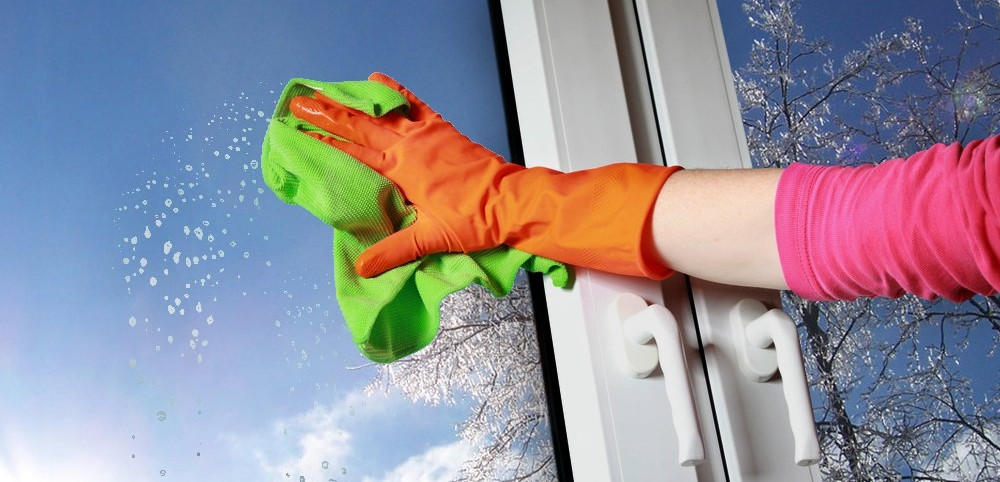Мытье окон на дому
