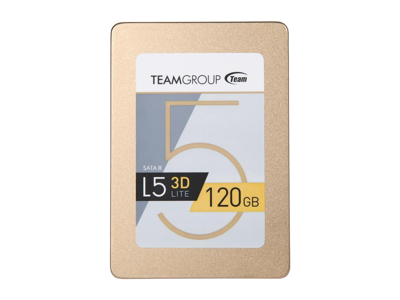 "Твердотельный накопитель SSD Team Group L5 LITE 3D 2.5"" 120GB SATA III 3D NAND T253TD120G3C101"