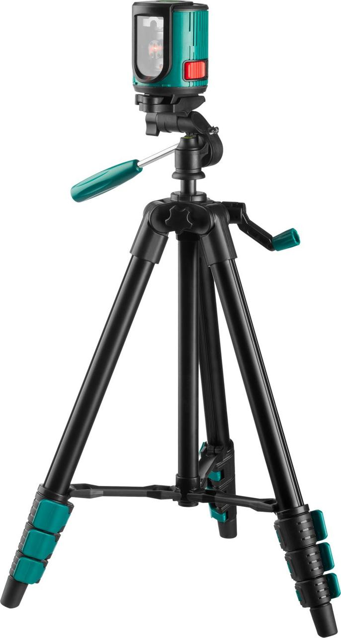 (34700-3) CL20 №3 Нивелир лазерный линейный, элевационный штатив ST-120, чехол, 20м, IP54, KRAFTOOL