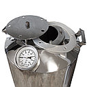 "Перегонный куб для самогонного аппарата ""Горилыч"" 20/110/t с термометром, фото 2"