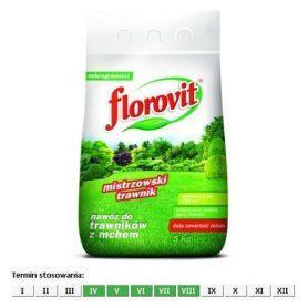 Минеральное удобрение для газонов с железом , 5кг FLOROVIT