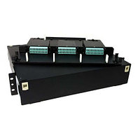 Hyperline FO-19BX-1U-D1-3xSLT-W120H32-EMP
