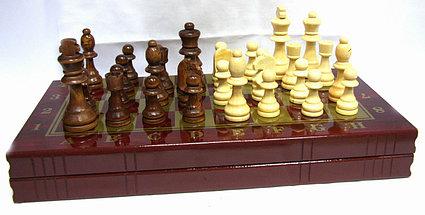 Шахматы 3в 1 (500мм х 500мм), фото 3