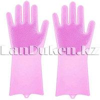 Универсальные силиконовые перчатки Magic Brush (цвета в ассортименте)