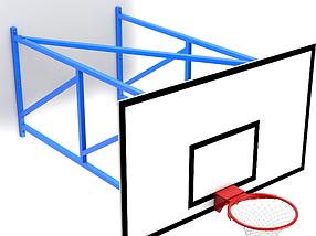 Ферма баскетбольная настенная вынос 2м., фото 3