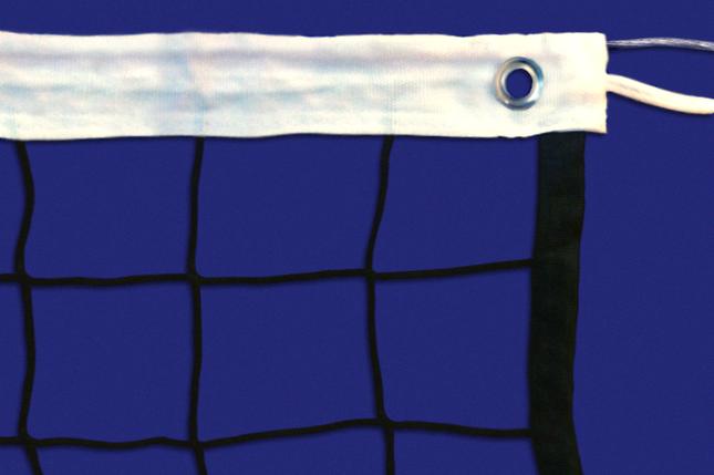 Сетка волейбольная, нить D=2 мм, стальной трос D=3 мм, фото 2